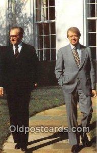 President Jimmy Carter, Shah Mohammed Reza Pahlavi American Embassy Unused