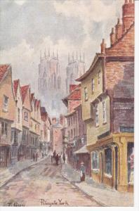 AS: T. Guy, YORK, Yorkshire, England, United Kingdom; Petergate, 00-10s