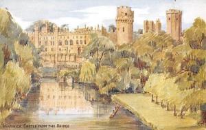 Warwick Castle from The Bridge Chateau