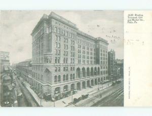 Unused Pre-1907 READING TERMINAL Philadelphia Pennsylvania PA n5087