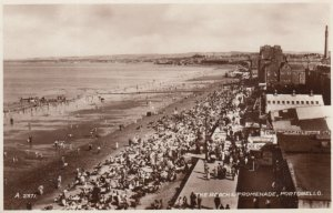 RP: Portobello , Scotland , 1930s ; The Beach Promenade