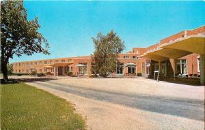Princeton Illinois~Prairie View Nursing Home~Umbrella Patio Tables~1950s
