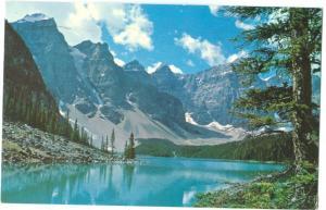 Canadian Rockies, Moraine Lake, 1971 used Postcard