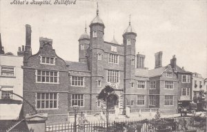 GUILDFORD, Surrey, England, United Kingdom; Abbot's Hospital, PU-1904