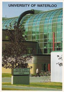 William Davis Computer Centre University Of Waterloo Ontario Canada