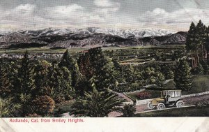REDLANDS, California, 1900-1910s; View From Smiley Heights