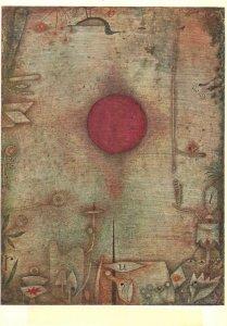 Postcard art paul klee ad marginem kunstmuseum basel