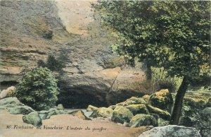Postcard France Fountain de Vaucluse