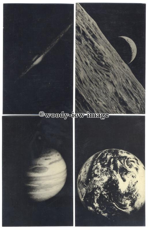 su2917 - 9 Postcards of the planets and solar system