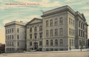 RICHMOND, Virginia, PU-1912 ; The Memorial Hospital