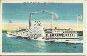 Steamer Mt. Washington, Lake Winnipesaukee, N.H.