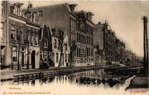 CPA AMSTERDAM 122 Overtoom NETHERLANDS (565824)