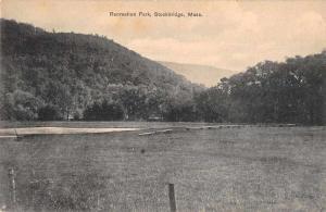Stockbridge Massachusetts Recreation Park Scenic View Vintage Postcard JA7471843