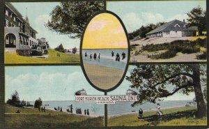 SARNIA, Ontario, Canada, PU-1914; Port Huron Beach