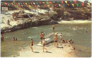 Blue Hole Swimming Pool, Turner Falls Park, Oklahoma, OK, Chrome