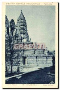 Old Postcard Angkor White Architects
