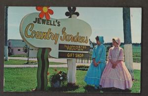 Jewell's Country Gardens, York, PEI - Used 1960s