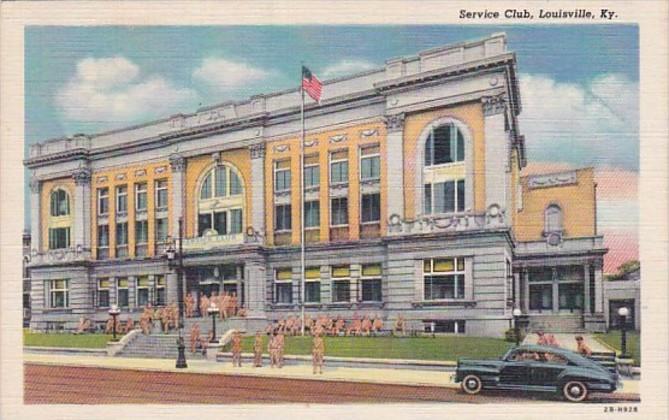 Kentucky Louisville Service Club 1951 Curteich