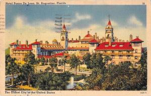 USA Hotel Ponce De Leon, St. Augustine, Florida The Oldest City in the United St