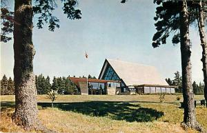 Alexander Graham Bell Museum Baddeck Cape Breton NS Chrome