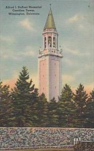 Delaware Wilmington Alfred I DU Pont Memorial Carrillon Tower