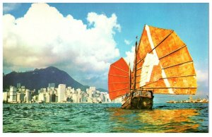 Amazing Ship Pleasant Journey Hong Kong Postcard PC1063