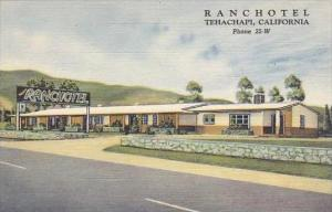 California Tehachapi Ranchotel