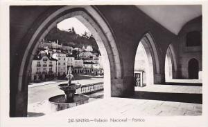 RP, Palacio Nacional- Portico, Sintra, Portugal, 1920-1940s