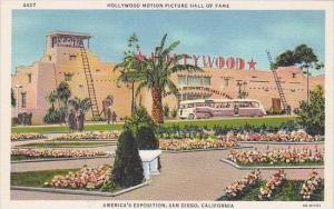 California San Diego Hollywood Motion Picture Hall Of Fame Americas Exposition