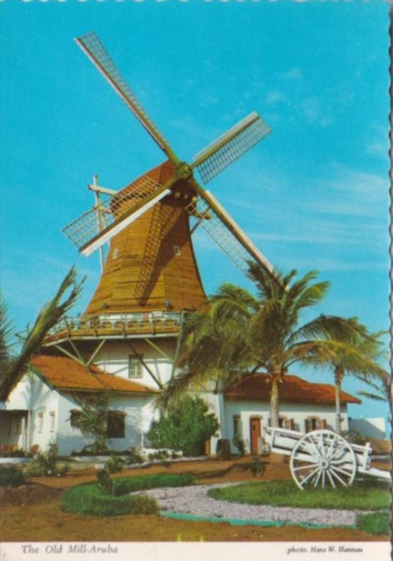 Netherlands Antilles Aruba The Old Mill Olde Molen