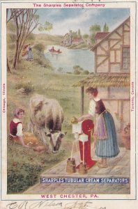 WEST CHESTER, Pennsylvania, PU-1907; Sharples Tubular Cream Separators, Cow