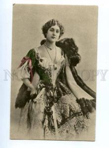 138821 CAVALIERI Italian OPERA Star SINGER Belle vintage PHOTO