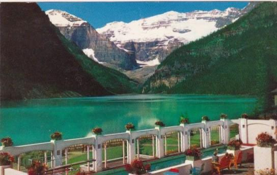 Canada Mt Lefroy Victoria Glacier and Lake Louise Alberta 1964
