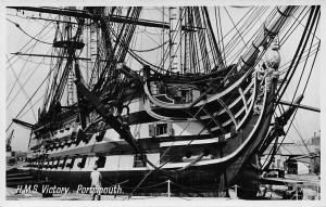 H.M.S. Victory, Portsmouth (Hampshire) 104-gun first-rate ship Royal Navy