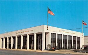 Palestine Texas 1960s Postcard East Texas National Bank
