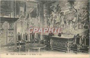 Old Postcard Pau Le Chateau Le Salon