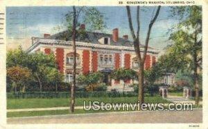 Governor's Mansion - Columbus, Ohio