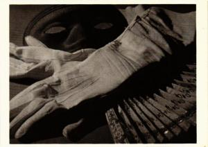 CPM PO6 Gloves, Mask and Fan c. 1925 PAUL OUTERBRIDGE, JR. (d1035)
