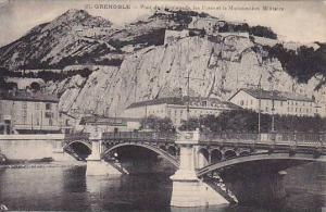 GRENOBLE , France , 00-10s ; Pont de l'Esplanade