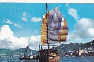 Ships, Harbor, HONG KONG, China, 40-60's