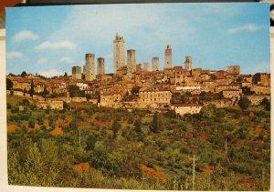 Italy Citta di S Gimignano Panorama - unposted