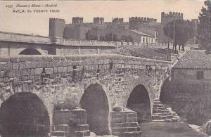 Spain Avila El Puente Viejo