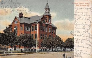 East St Louis Illinois~Belltower Atop Webster Public School 1907 UDB