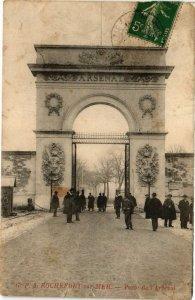 CPA ROCHEFORT-sur-Mer-Porte de l'Arsenal (45145)