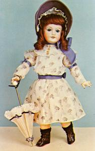 Delaware Doll & Toy Collectors' Club - Bisque Doll