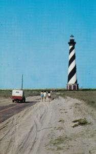 Cape Hatteras Lighthouse, North Carolina, 40-60s