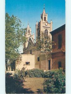 Pre-1980 CHURCH SCENE Albuquerque New Mexico NM AD1674
