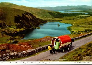 Ireland Co Kerry Caha Mountains Glanmore Lake and Kenmare Bay