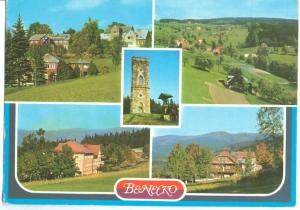 Czech Republic, BENECKO used Postcard