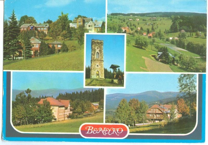 Czech Republic, BENECKO used Postcard